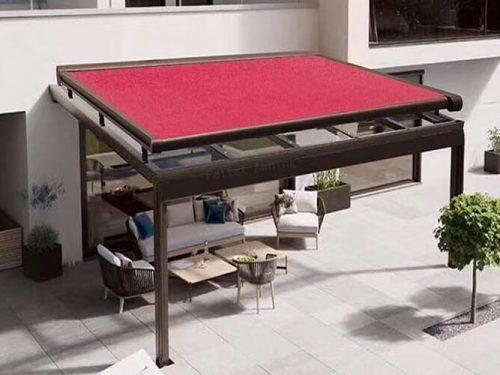 FT930 Windproof Sun Shading Automatic Roof Skylight Awning