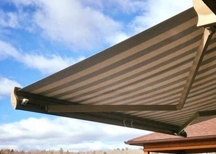 Electric Full Cassette Retractable Folded Arm Awnings for Garden Sale