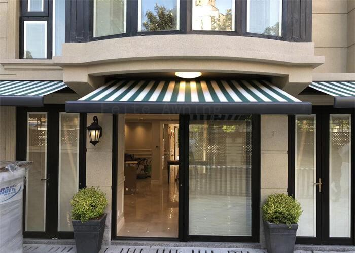 electric full cassette retractable folded arm awnings for sale