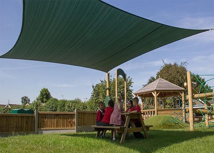 90% Square Sun Shade Sails Garden Awnings Outdoor Sunshade Net Car Cover