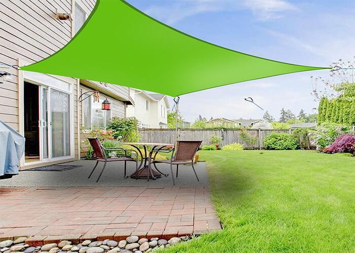 Home Garden Sun Shade Sail Canopy Mesh Net Supplier