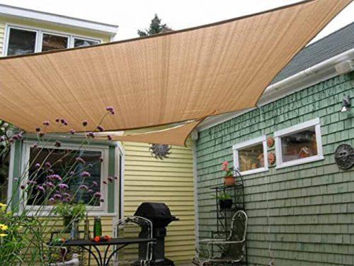 Manufacturer Balcony Garden Sun Shade Sail Awnings