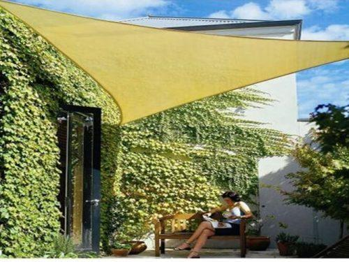 Patio Yard Commercial and Residential Sun Shade Sail Canopy Awning