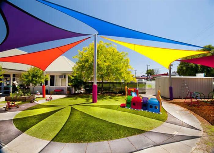 Sun Protection Children Playground Shade Sail Awning