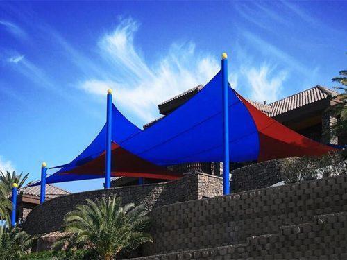 Triangle Sun Shade Sail Canopy UV Block Awning for Outdoor Patio Garden Backyard