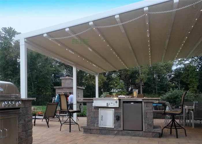 pepergola attached to houser