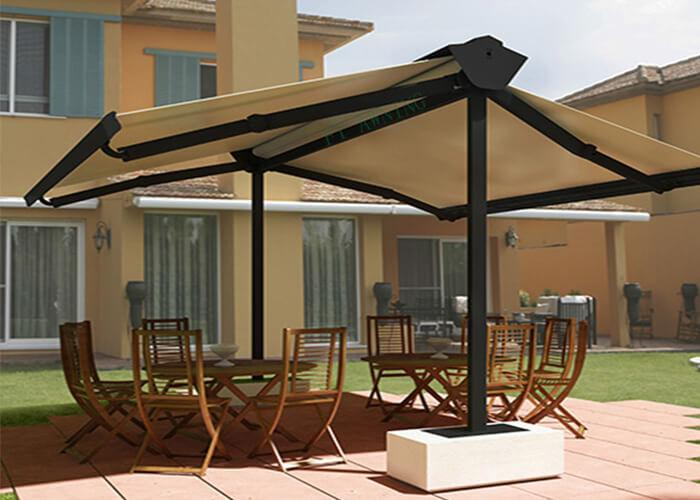 2 Side Awning Double Side Retractable Awnings For Sale