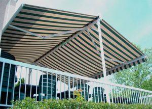 Aluminum Free Stand Double Side Awning