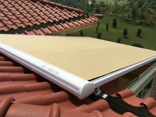 Aluminum Skylight Roof Awning House Terrace Sunshade