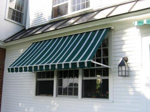 Automatic Windows Sun Proof Drop Arm Retractable Awnings