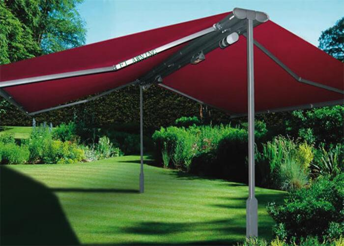 Butterfly Awning For Outdoor Coffee Shop