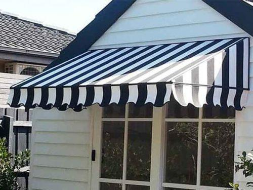 China Aluminium Alloy French Style Dome Awnings for Windows