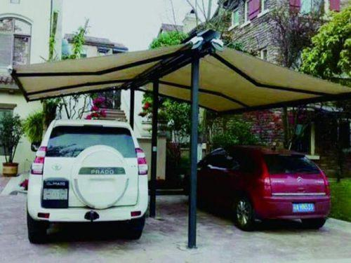 China Free Standing Awning Double Sliding Awnings for Carparking