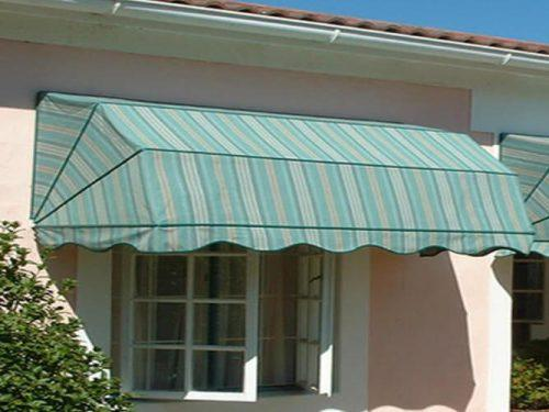 Commercial Dome Round Retractable Awnings for Windows