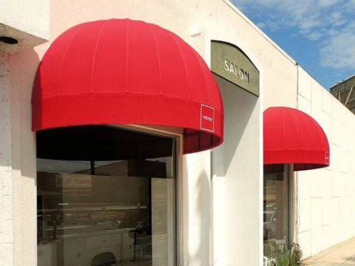 Commercial Dome Windows Half Round Awning