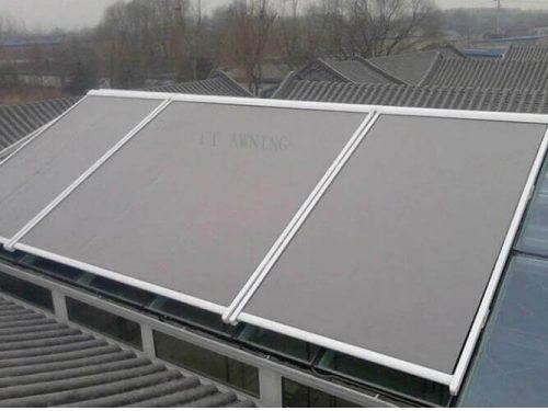 Green House Aluminium Roof Retractable Awnings