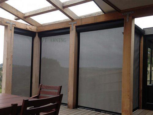 Manual Motorized Window Door Sunscreen Vertical Blinds