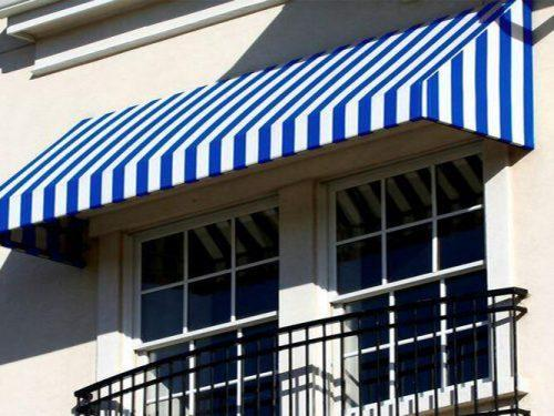 Retractable Sunshade Front orch Aluminum Window Awning