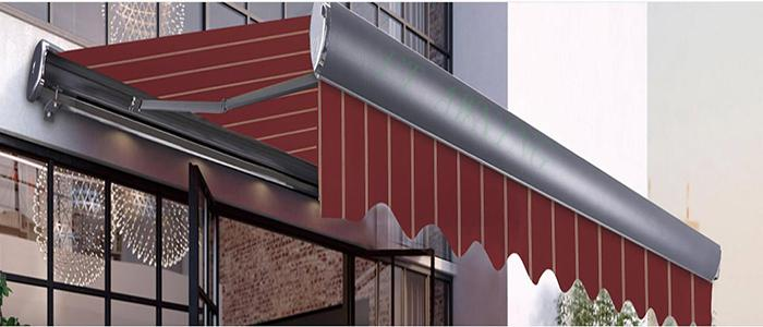 China Semi Cassette Retractable Garden Home Shade Awning