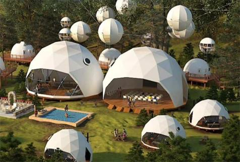 dome tent store